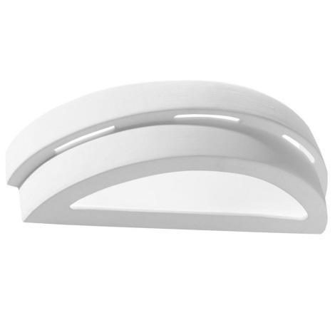 Nástěnné svítidlo HELIOS 1xE27/60W/230V bílá