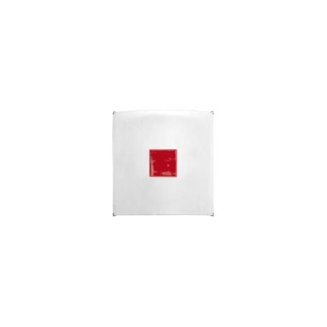 Nástěnné svítidlo KUBIK MINI RED 1xG9/50W