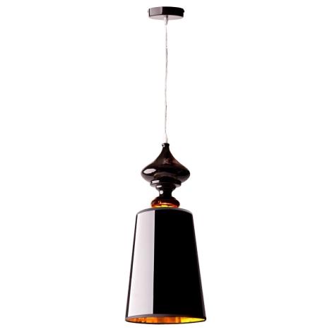 Nowodvorski 5756 - Závěsné stropní svítidlo ALASKA BLACK 1xE27/60W/230V