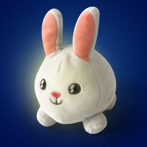 PABOBO - Svítící mazlíček SHAKIES králíček 2xCR32