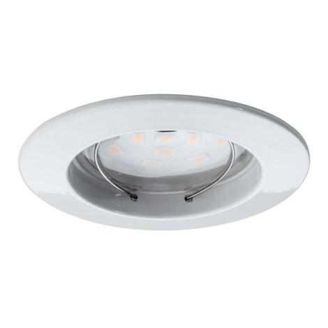 Paulmann 92754 - LED/6,8W IP44 Koupelnové podhledové svítidlo COIN 1xLED/6,8W/230V