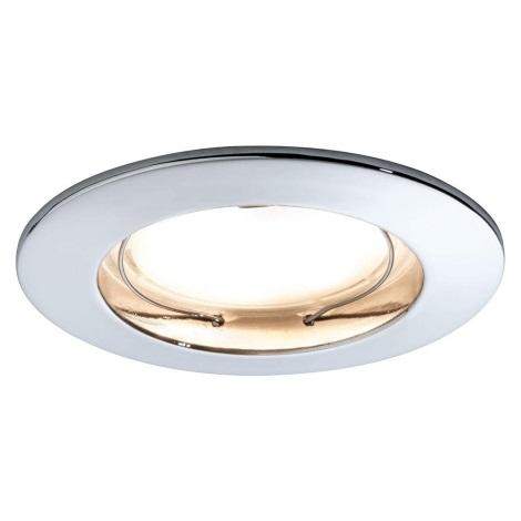 Paulmann 93959 - LED/7W IP44 Stmívatelné koupelnové svítidlo COIN 230V