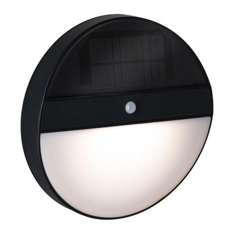 Paulmann 94264 - LED/1W IP44 Venkovní solární svítidlo se senzorem ELOISE 3,7V