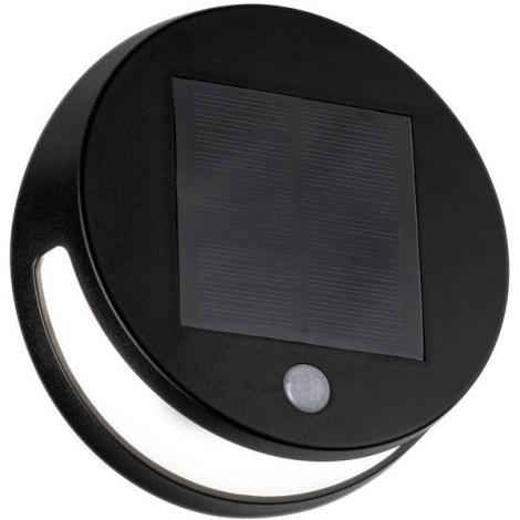 Paulmann 94265 - LED/3W IP44 Venkovní solární svítidlo se senzorem HELENA 3,7V