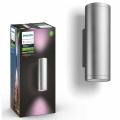Philips 17463/47/P7 - LED RGB Venkovní nástěnné svítidlo HUE APPEAR 2xLED/8W/230V IP44