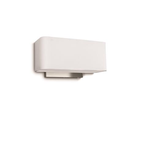 Philips 36337/31/16 - Svítidlo nástěnné CLEMENT 1xE27/23W bílá