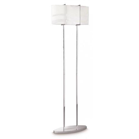 Philips 37503/11/16 - Podlahová lampa ONDAS 2xE27/150W chrom