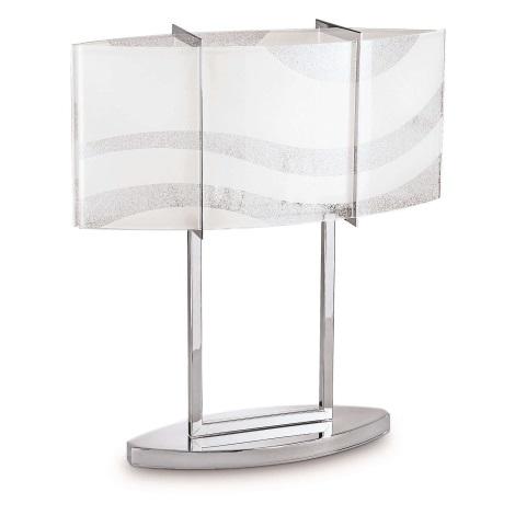 Philips 37504/11/16 - Stmívatelná stolní lampa ONDAS 2xE27/75W chrom