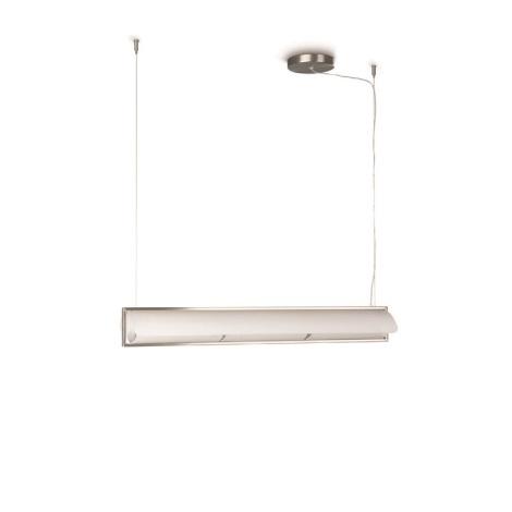 Philips 37775/17/16 - Závěsný lustr BRANCA 3xE27/60W/230V bílá