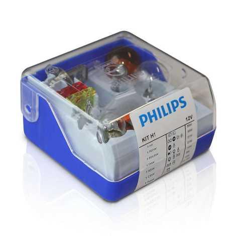 Philips 55008SKKM - Sada náhradních autožárovek H1 12V