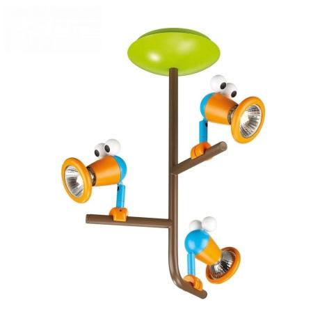 Philips 56313/55/PO – LED Dětské bodové svítidlo MYKIDSROOM BIRDEY 3XGU10/3,5W/230V