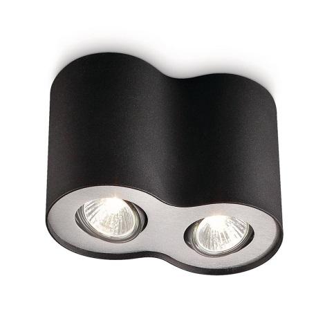 Philips 56332/30/10 - Bodové svítidlo MYLIVING PILLAR 2xGU10/50W/230V
