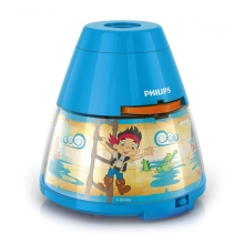 Philips 71769/05/16 - LED Dětský projektor DISNEY PIRATE 1xLED/0,1W/3xAA