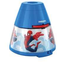 Philips 71769/40/16 - LED Dětský projektor DISNEY SPIDER MAN LED/0,1W/2xAA