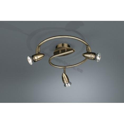 Philips Bright Light 54949/06/15 - Bodové svítidlo spirála 3xGU10/50W/230V