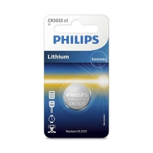 Philips CR2025/01B - Lithiová baterie CR2025 MINICELLS 3V
