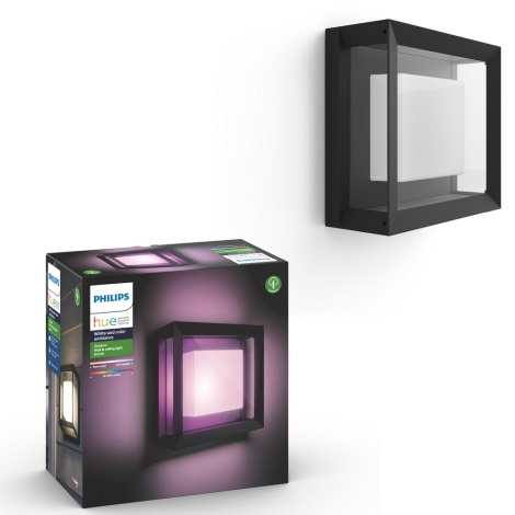 Philips - LED RGB Venkovní nástěnné svítidlo LED/15W/230V IP44
