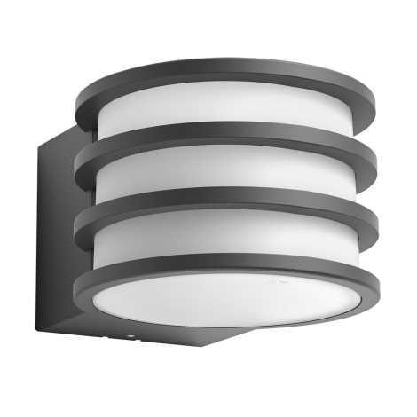 Philips - LED Venkovní nástěnné svítidlo 1xE27/9,5W/230V IP44