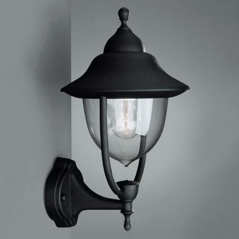 Philips Massive 01620/01/30 - Venkovní nástěnné svítidlo BUDAPEST 1xE27/60W/230V