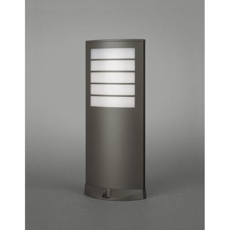 Philips Massive 01727/01/93 - Venkovní lampa OSLO 1xE27/20W Tmavá šedá