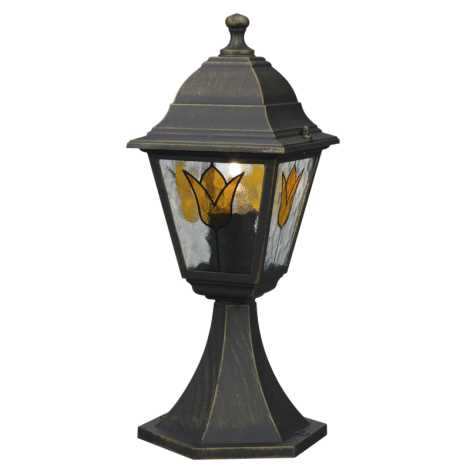 Philips Massive 15362/42/10 - Venkovní lampa KOBLENZ 1xE27/60W hnědá patina