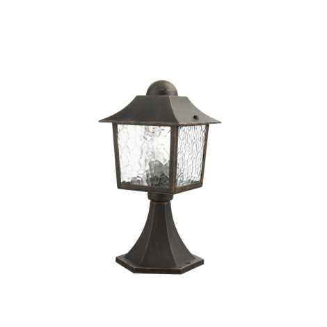 Philips Massive 15452/86/10 - Venkovní lampa DEBRECEN 1xE27/60W rezavá