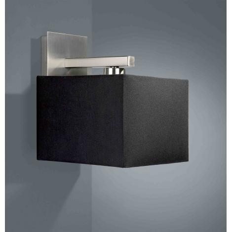 Philips Massive 36677/17/10 - Nástěnné svítidlo ADRIO 1xE14/60W černá