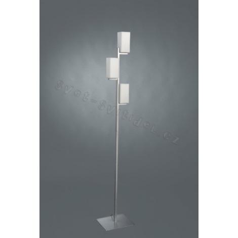 Philips Massive 37678/48/10 - Podlahová lampa KHAMA 3xE14/40W