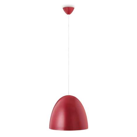 Philips Massive 40617/57/10 - Závěsný lustr MARCOSO 1xE27/40W červená
