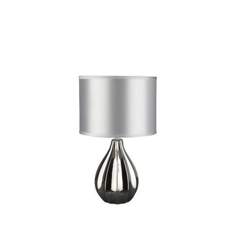Philips Massive 43226/11/10 - Stolní lampa MOZART 1xE27/60W stříbrná