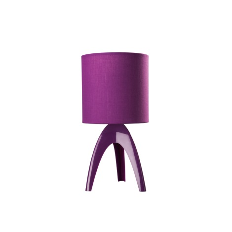 Philips Massive  43228/96/10 - Lampa stolní ISACA 1xE14/40W fialová