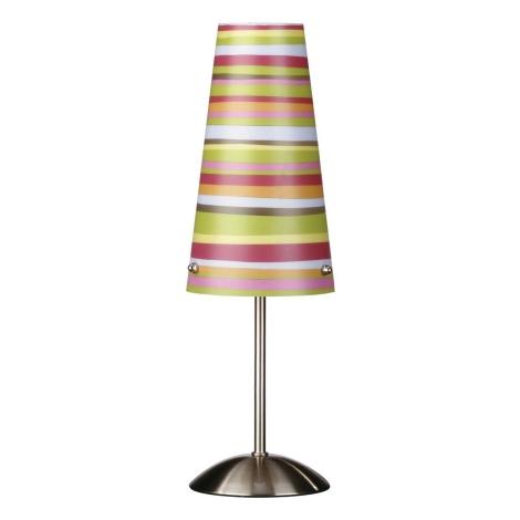 Philips Massive 45356/55/10 - Stolní lampa CARDIN 1xE14/60W