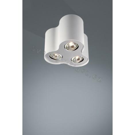 Philips Massive 56333/31/10 - Bodové svítidlo NERO 3xGU10/50W