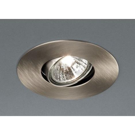 Philips Massive 59550/17/10 - Koupelnové podhledové svítidlo LIQUIDO 1xGU10/50W/230V matný chrom