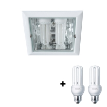 Philips Massive 59794/31/10 - Downlight OCTO 2xE27/23W