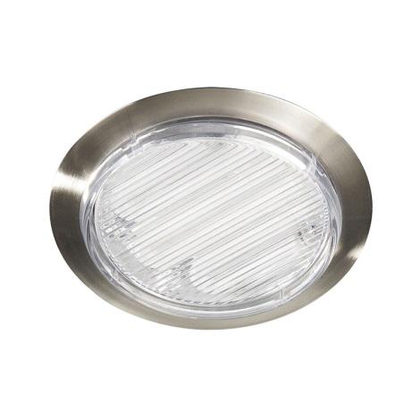 Philips Massive 59915/17/10 - Koupelnové podhledové svítidlo FLOW 1xGX53/7W/230V nerez