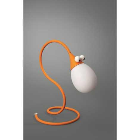 Philips Massive 66010/53/10 - Stolní lampa SNAKEY 1xG4/10W/12V oranžová
