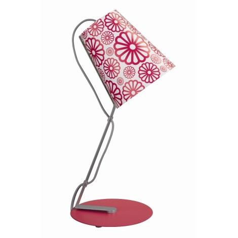 Philips Massive 66620/28/10 - Stolní lampa SKIP 1xE14/12W růžová
