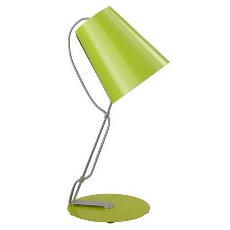 Philips Massive 66620/33/10 - Stolní lampa SKIP 1xE14/12W zelená