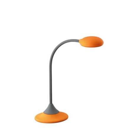Philips Massive 66622/53/10 - Stolní lampa  WARREN 1xGX53/9W oranžová