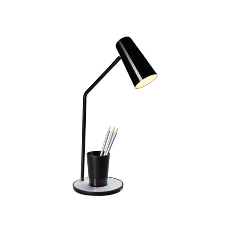 Philips Massive  66625/30/10 - Lampa stolní JASON 1xE14/12W černá