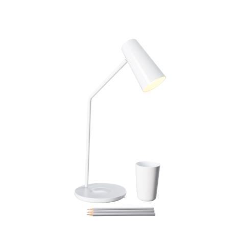 Philips Massive  66625/31/10 - Lampa stolní JASON 1xE14/12W bílá