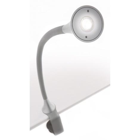 Philips-Massive 66707/87/16 - Stolní lampa DESKLIGHT GREY LED/2.5W/230V