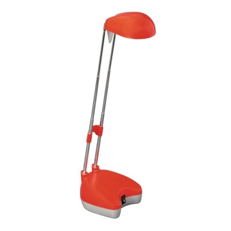 Philips Massive 67002/32/10 - Stolní lampa SAMUEL 1xGY6,35/35W/12V červená