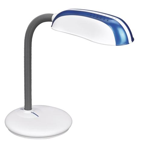 Philips Massive 67319/91/10 - Stolní lampa FRANK 1xE27/14W modrá