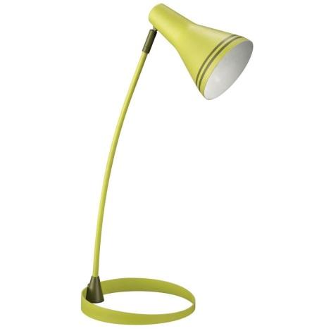 Philips Massive 67322/33/10 - Stolní lampa SCOTT 1xE27/12W zelená