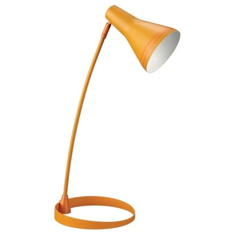 Philips Massive  67322/53/10 - Lampa stolní SCOTT 1xE27/12W oranžová