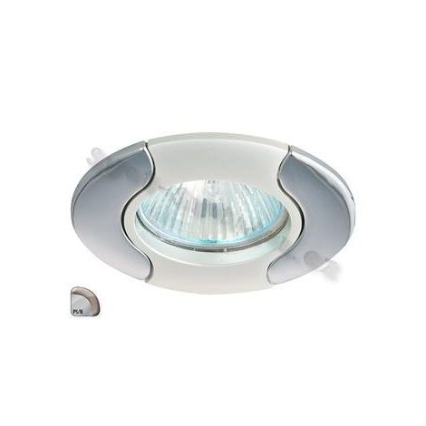 Podhledové svítidlo AXL DS14 1xMR16/50W perleťové stříbro / nikl - GXPL021