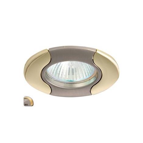 Podhledové svítidlo AXL DS14 1xMR16/50W saténový nikl / zlatá - GXPL022