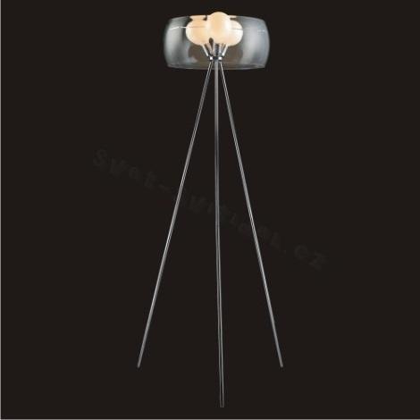 Podlahová lampa AQIEL 3xE27/100W